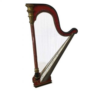 Jouet harpe style Napoléon III