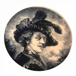 Plat Boch de Rembrandt style Delft