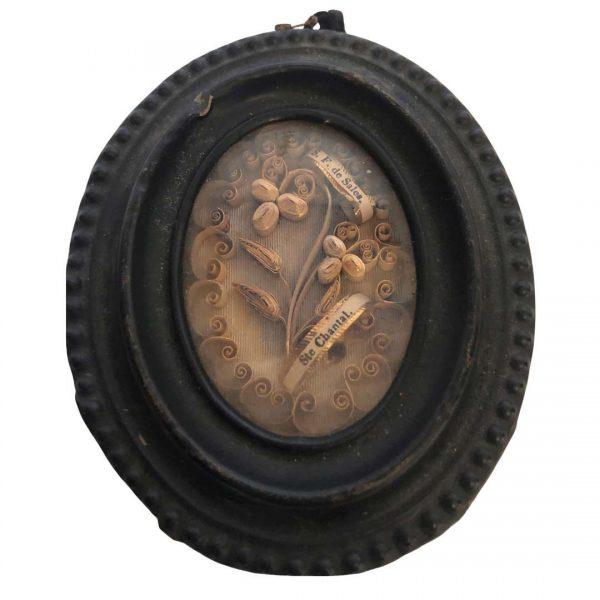 Reliquaire en laiton style Napoléon III