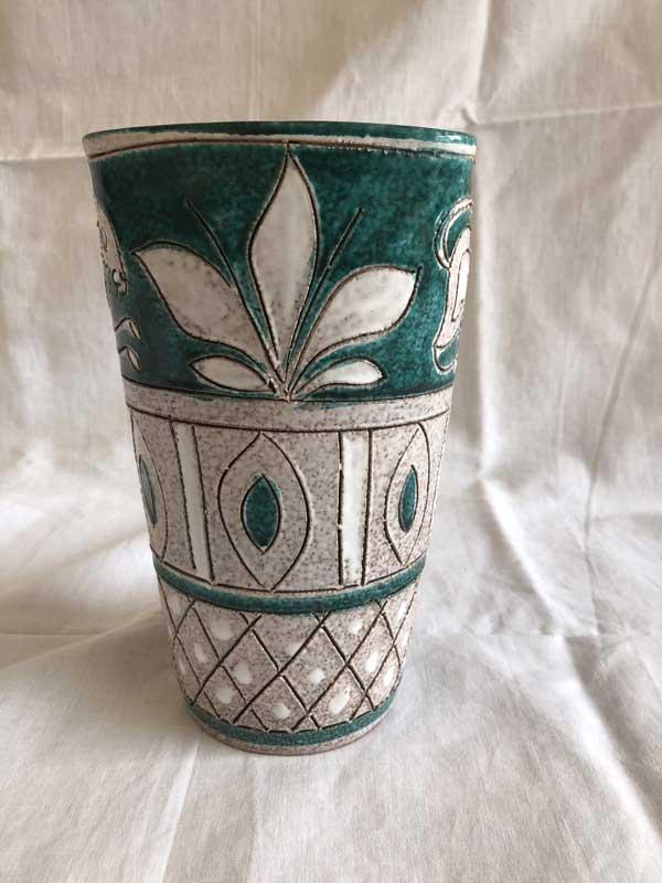 Vase ancien Vallauris en céramique