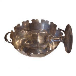 rafraîchissoir en métal argenté