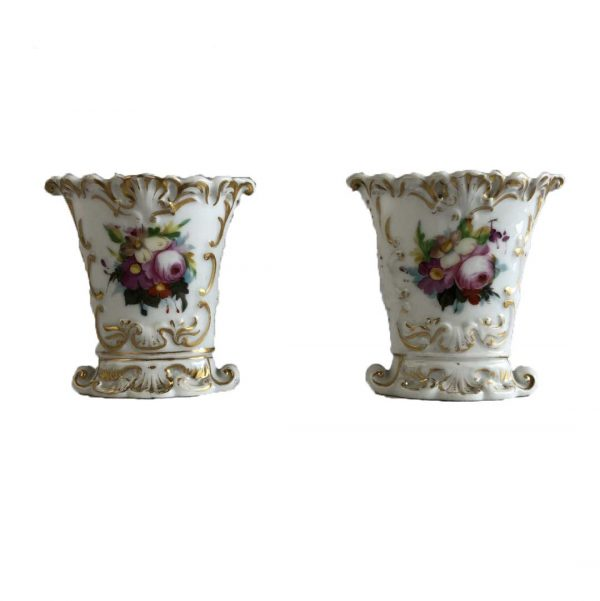 Paire de vases d'église