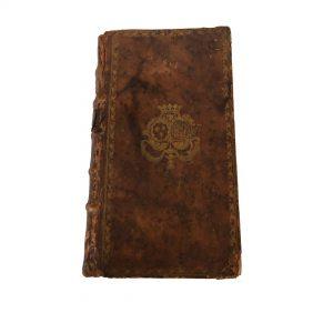 Boite à secrets ancienne faux livre