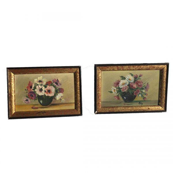 Bouquets - tableaux anciens