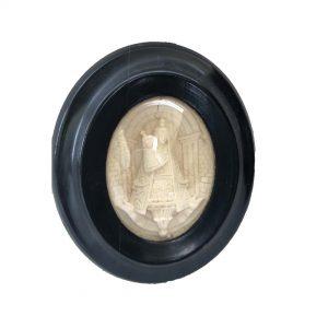 Cadre reliquaire Napoléon 3