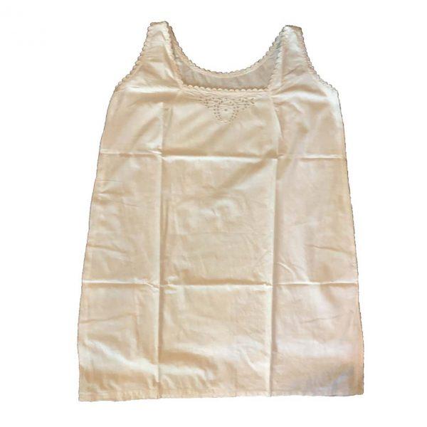 chemise ancienne brodée